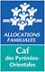 logo CAF des PO